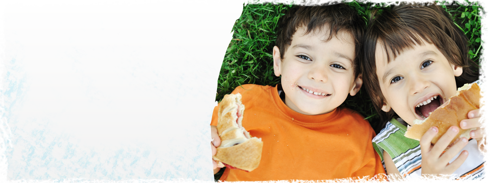 Freshly prepared food daily for your child...